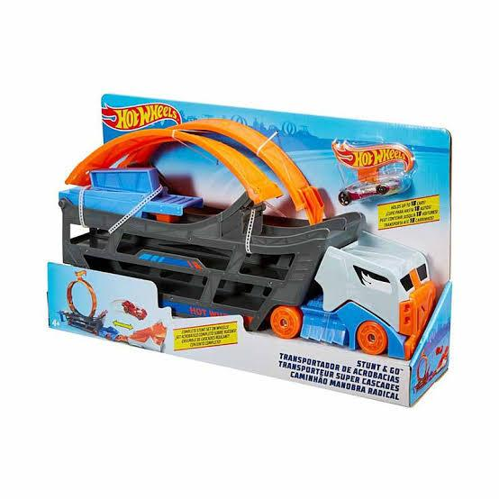 HOT WHEELS STUNT & GO TRANSPORTER